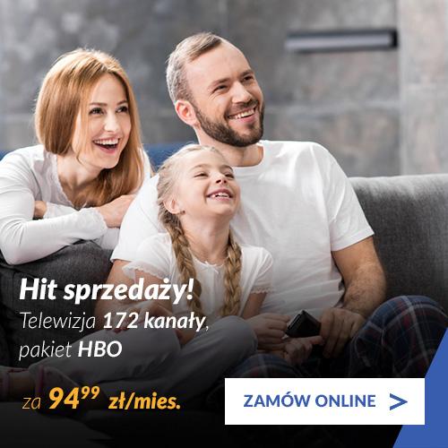 Pakiet Platynowy+ pakiet HBO + Internet 300 Mb/s