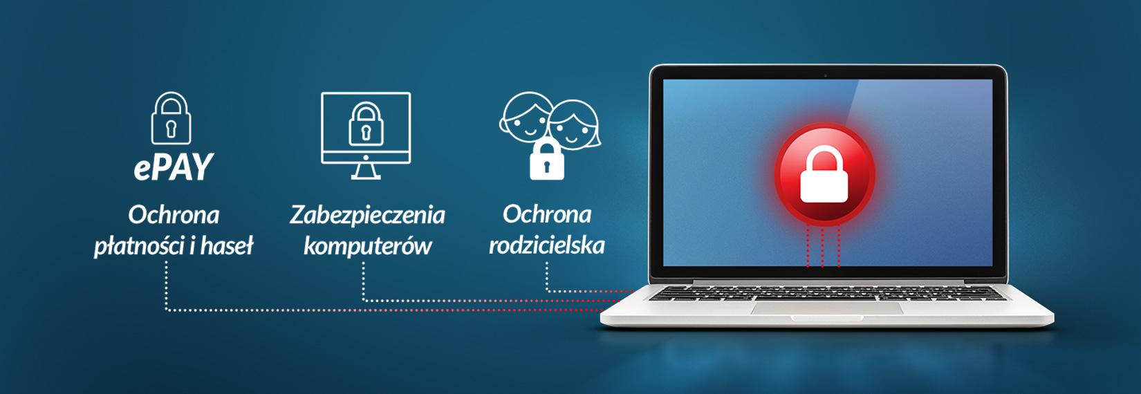 Bezpieczny Internet infografika