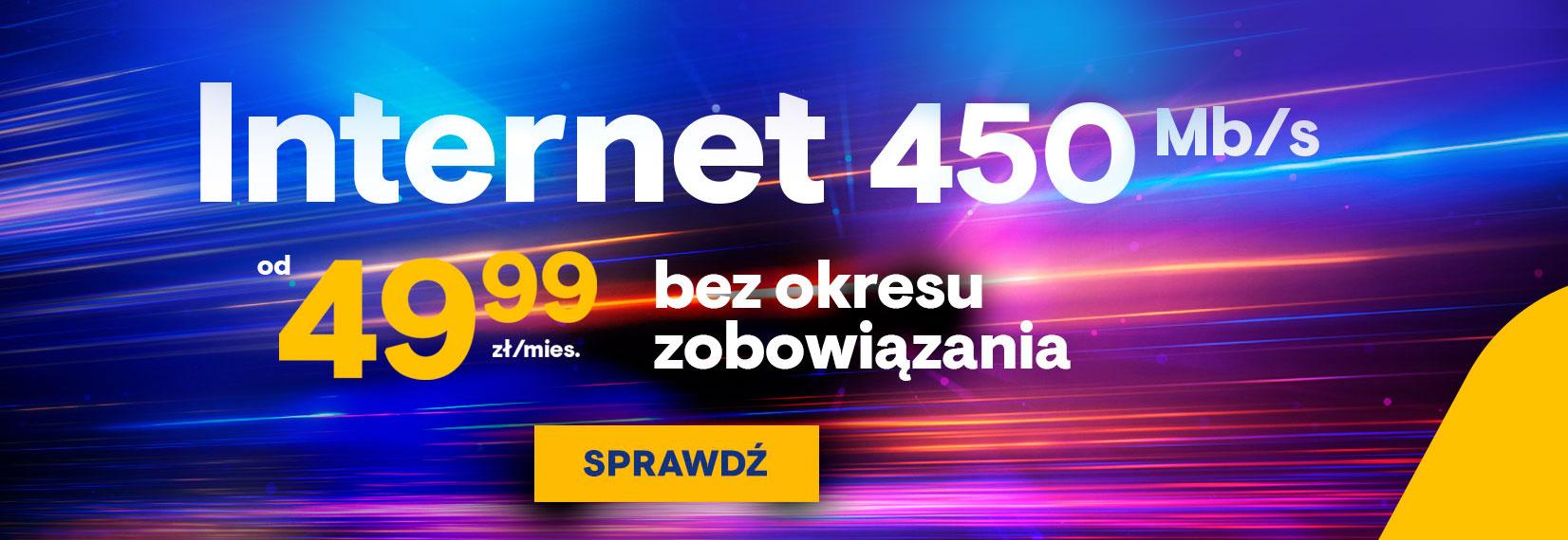 Internet 450 Mb/s
